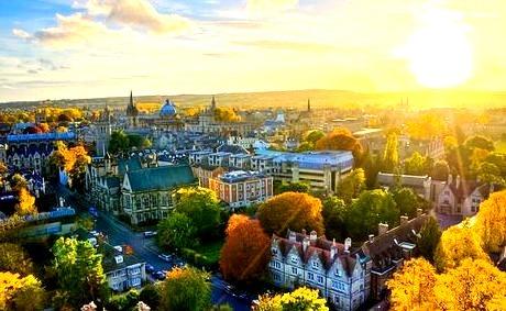 Autumn, Oxford, England