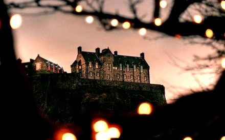 Castle on a Hill, Edinburgh, Scotland