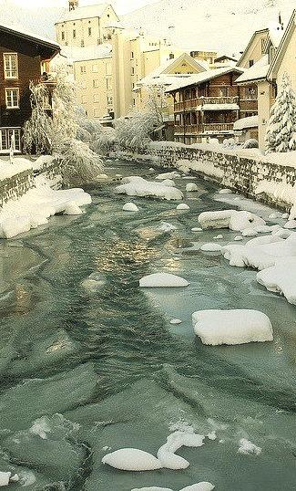 Winters Morning, Andermatt, Switzerland
