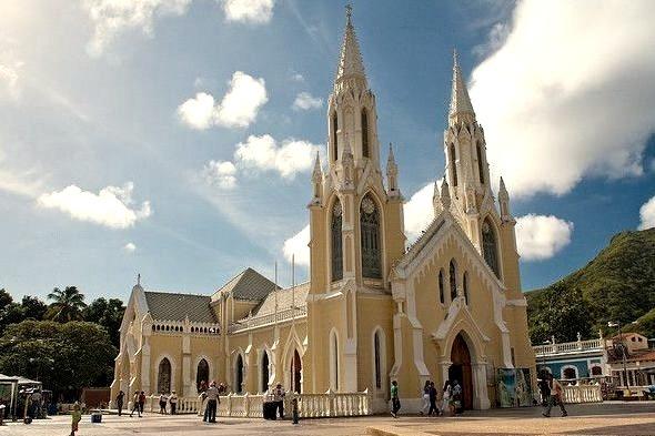 by Jesus C on Flickr.Basilica Menor de la Virgen del Valle - Estado Nueva Esparta, Venezuela.