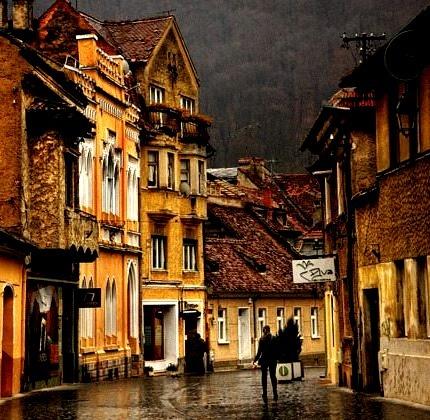 Ancient Street, Brasov, Romania