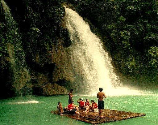 by Storm Crypt on Flickr.Kawasan Falls, Cebu Island, Philippines.