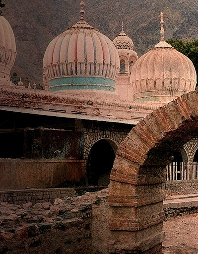 Shahi Mosque in Chitral, northern Pakistan