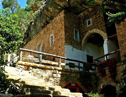 Our Lady of Quannoubine Maronite Monastery in Lebanon
