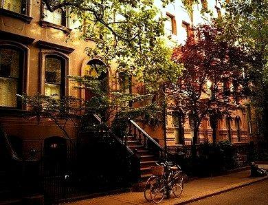 Perry Street, Greenwich Village, New York City