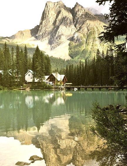 Summer, Emerald Lake, British Columbia, Canada