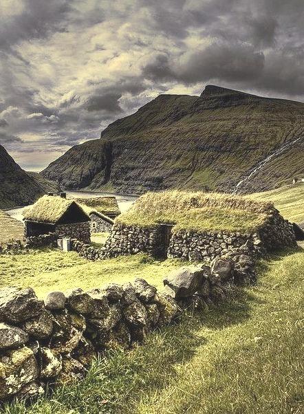 Ancient Stone House, The Faroe Islands