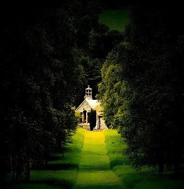Summer Green, Botanical Gardens, Peebles, Scotland