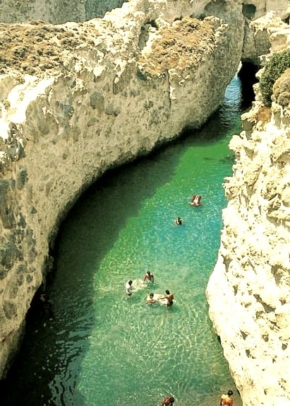 Floating to the Sea, Papafragas, Milos, Greece