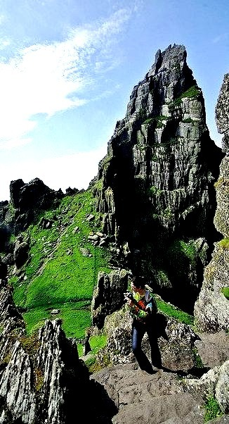 """View from the monastery of Skellig Michael, Ireland .]]>"""" id=""""IMAGE-m737hhnzg61r6b8aao1_500″ /></a></p><p>View from the monastery of Skellig Michael, Ireland .]]><br />#eyre, #Unesco, #Travel, #eire, #europe</p></div><footer class="""