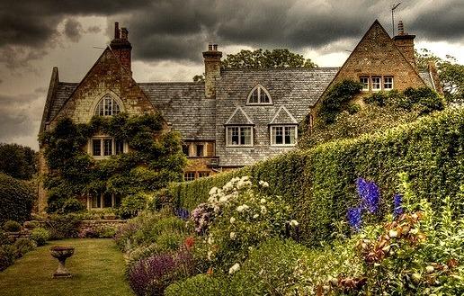 Coton Manor Gardens, Northamptonshire, England