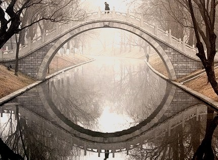 Moon Bridge, Beijing, China