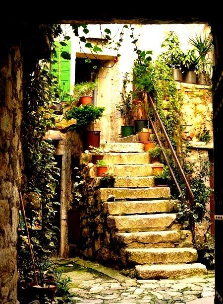 Ancient Entry, Rovinj, Croatia