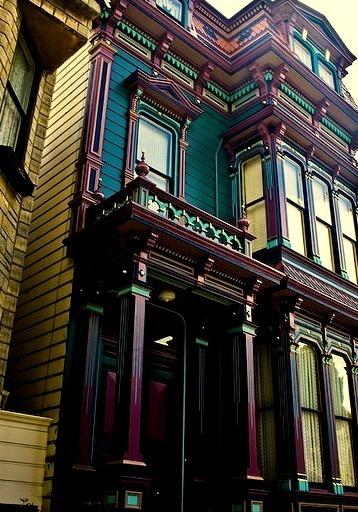 Victorian Home, San Francisco, California