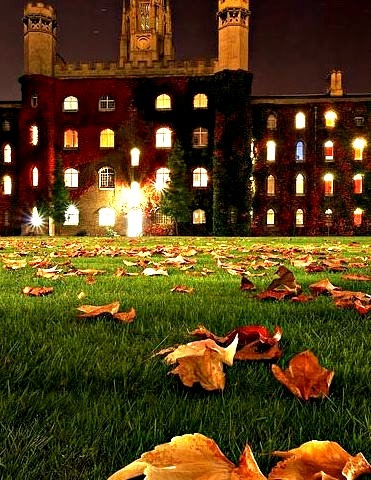 Autumn, Cambridge University,  England