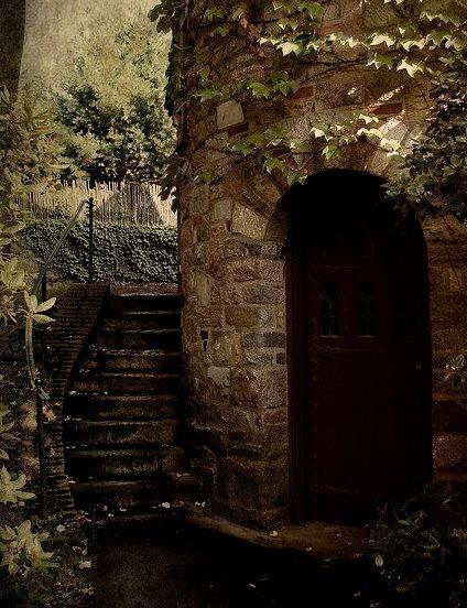 Ivy Tower Entrance, Worcester, Massachusetts