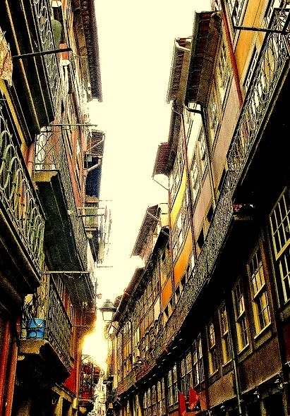 On the streets of Porto, Portugal