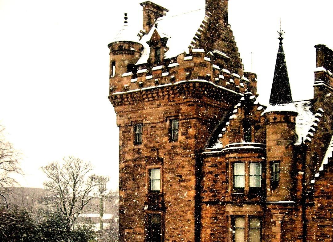 Snowy Day, Edinburgh, Scotland