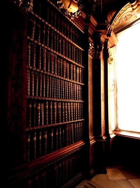 Library Alcove, Melk Abbey, Austria