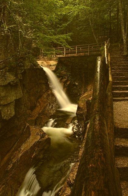 Waterfall Bridge, New Hampshire