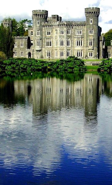 Johnstown Castle in Wexford, Ireland