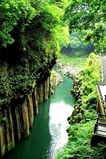 Takachiho Gorge in Miyazaki Prefecture / Japan