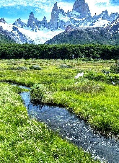 Through the meadows, Parque Nacional Los Glaciares / Argentina